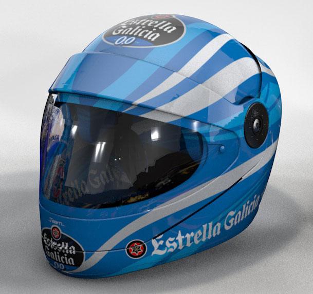 Casco Promo Team Estrella Galicia 0,0