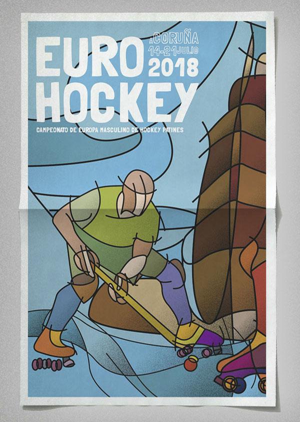 EuroHockey , A Coruña 2018