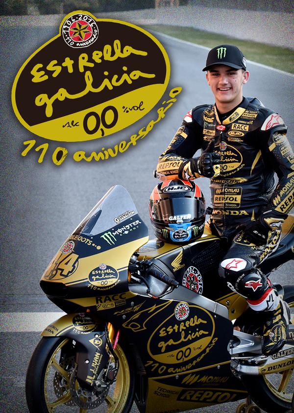 110º Aniversario Hijos de Rivera – Team estrella Galicia 0,0 motoGP