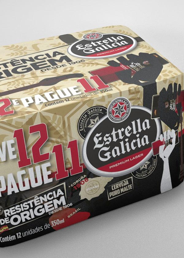 Pack 11+1 Estrella Galicia 'Resistencia de Origem'