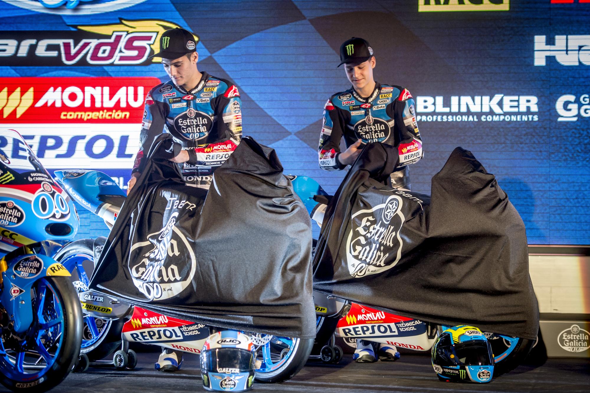 Presentación- Team estrella Galicia 0,0 motoGP