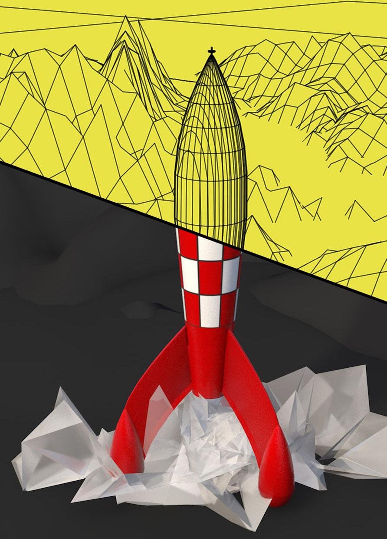 Cohete Lunar 'Tintín'
