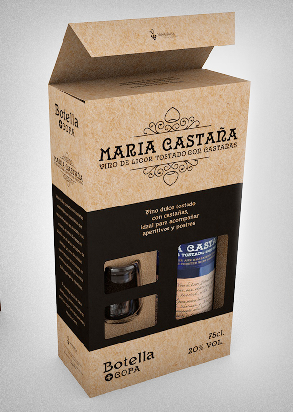 Packaging María Castaña